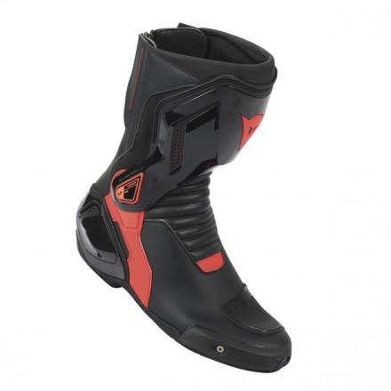 nexus boots dainese nero rosso fluo